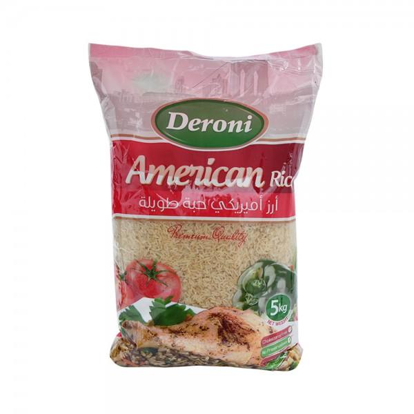Deroni American Rice  5kg 525315-V001 by Deroni
