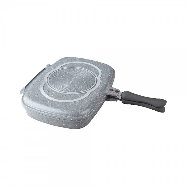 GRANIT DOUBLE FRY PAN 525334-V001 by Royal Gourmet Corporation