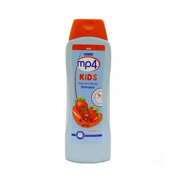 mp4 Kids Hair & Body Shampoo Strawberry 650ml 525474-V001 by Mp4