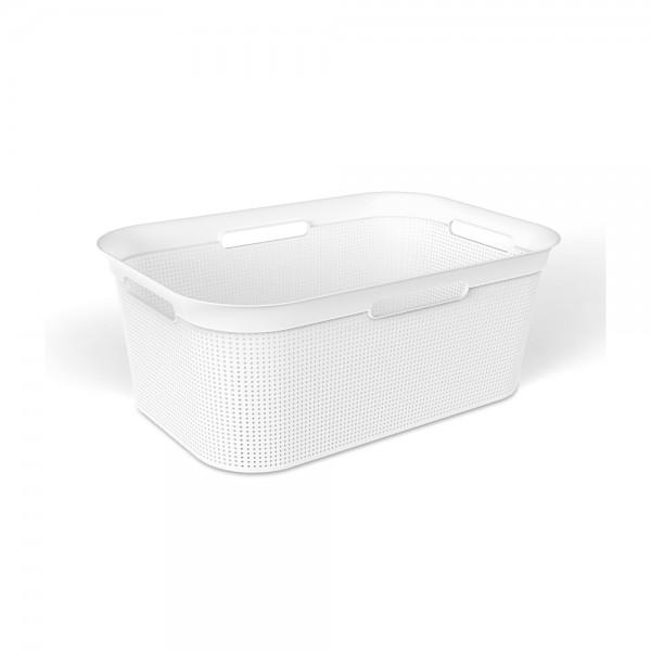 sundis Brisen Laundry Basket White Color 40L 525516-V001 by Sundis