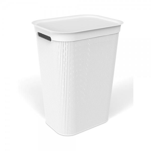 sundis Brisen Laundry Hamper White Color 50L 525518-V001 by Sundis