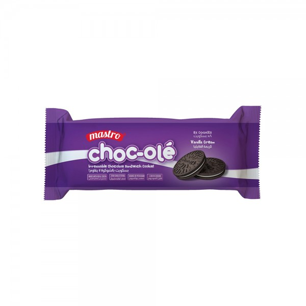 Mastro Choc Ole Biscuit - 60G 525649-V001 by Mastro