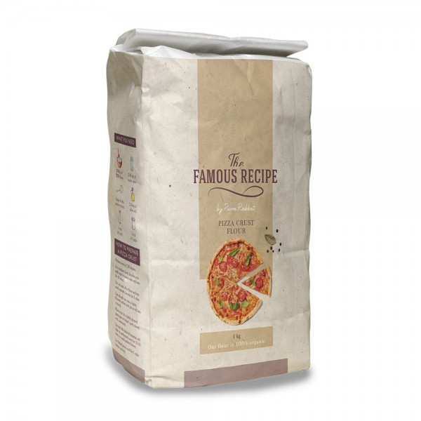 THE FAMOUS RECIPE Pizza Flour 1kg 525692-V001 by The Famous Recipe
