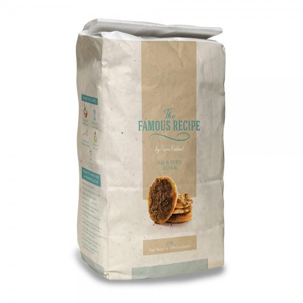 THE FAMOUS RECIPE Manakish Flour 1kg 525695-V001 by The Famous Recipe
