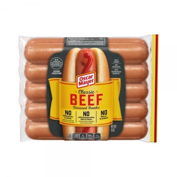 Oscar Mayer Premium Beef Franks 525784-V001 by Oscar Mayer