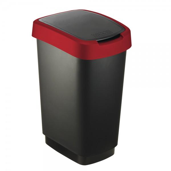 Sundis Twist Bin Black+ Red - 25L 525856-V001 by Sundis
