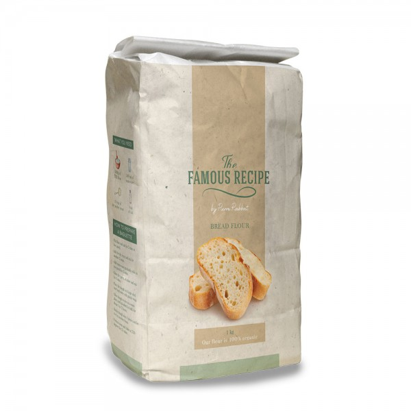 THE FAMOUS RECIPE French Bakery Flour 1Kg 525960-V001 by The Famous Recipe