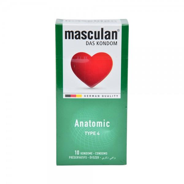 Masculan Condom Anatomic - 10Pc 526030-V001 by Masculan