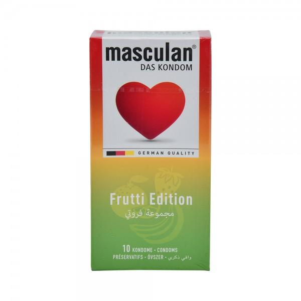 Masculan Condom Frutti Edition - 10Pc 526033-V001 by Masculan