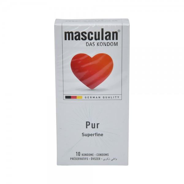 Masculan Condom Pur - 10Pc 526036-V001 by Masculan