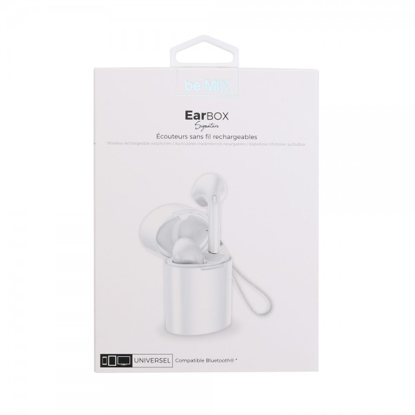 Be Mix Earbox Bluetooth Signature Wh - 1Pc 526138-V001 by Be Mix