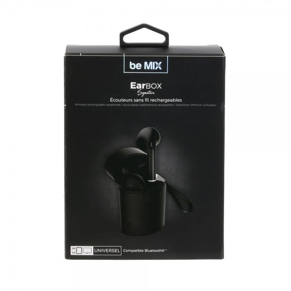 Be Mix Earbox Bluetooth Signature Bk - 1Pc 526139-V001 by Be Mix