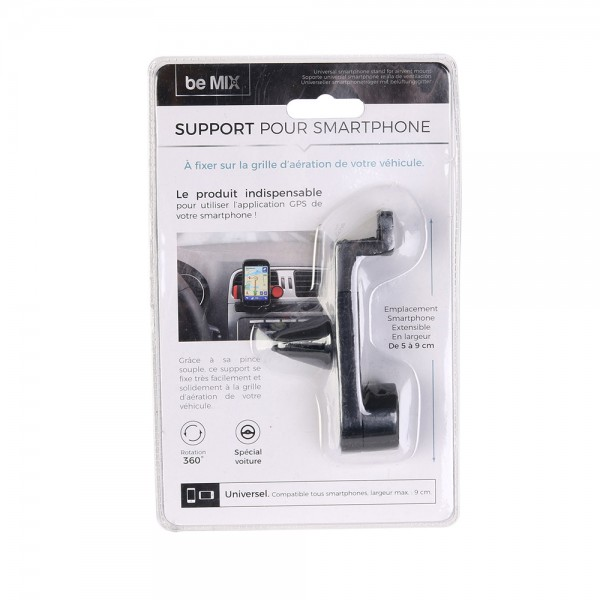 Be Mix Support Universel Smartphone Grille - 1Pc 526140-V001 by Be Mix