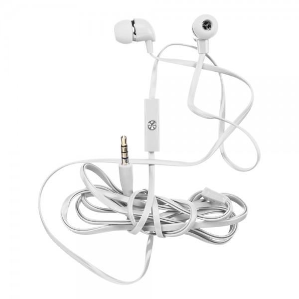 be MIX Handsfree Earphone Kit 1 Piece Available in White & Blue Colors 1 Piece 526145-V001 by Be Mix