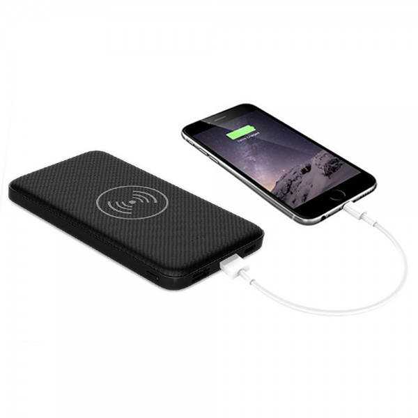 Be Mix Power Bank Wirless And Usb 10000Mah - 10000Mah 526168-V001 by Be Mix