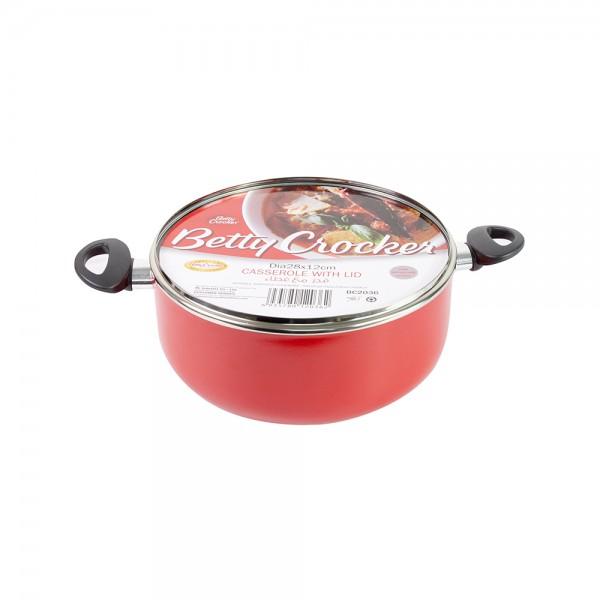 Betty Crocker, Red Cooking Pot, 28cm 526215-V001 by Betty Crocker