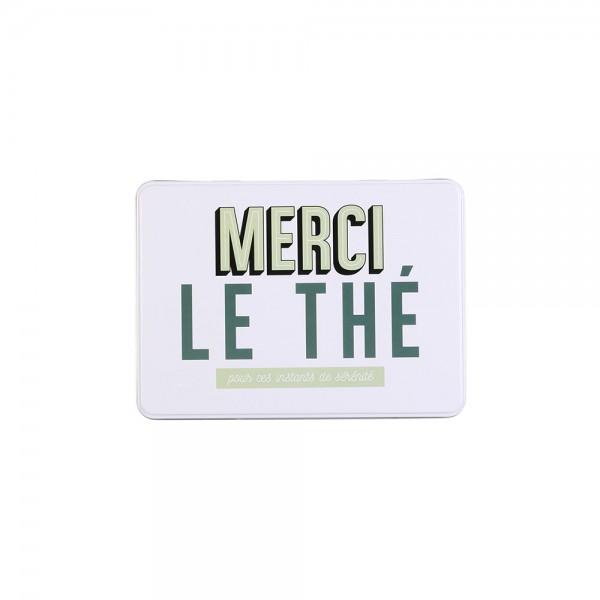 La Boite A Metal Tea Storage Box (Color: Green, 20.3x13.4cm) 526379-V001 by La boite a metal