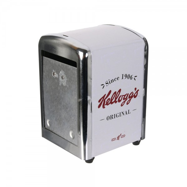 Kelloggs's Metal and Plastic Towel Dispenser (Color: Red and White, 14.5x9.5cm) 526381-V001 by Kellogg's