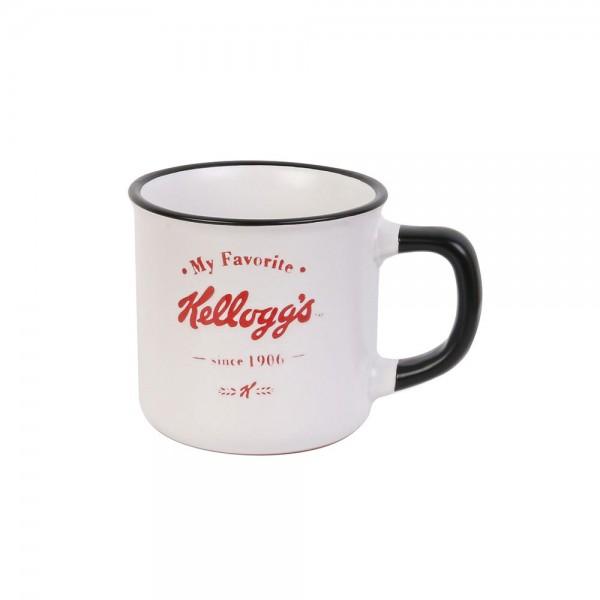 Kellogg's Porcelain Mug Vintage (Color: red and black, 25cl) 526389-V001 by Kellogg's