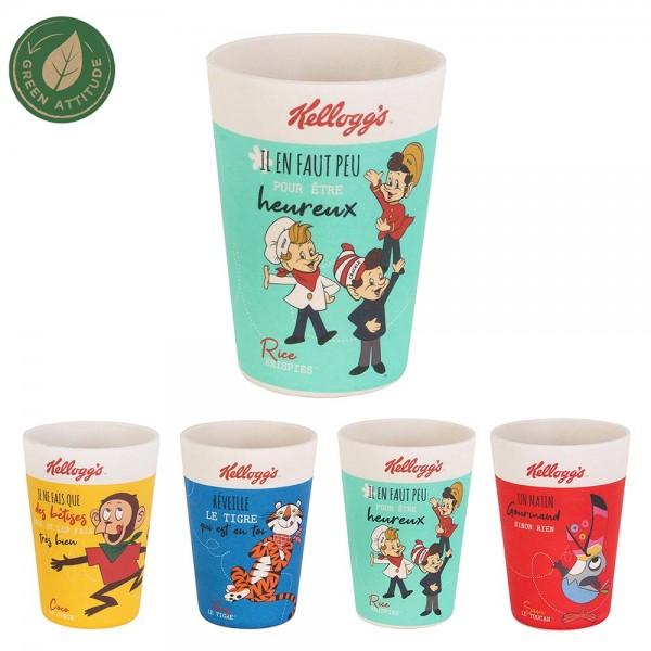 Kellogg's Bamboo Fibre Cup (Mixed color, 30cl) 526393-V001 by Kellogg's