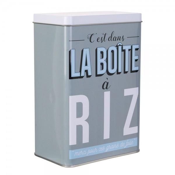 La Boite A Metal Rice Storage Box (Color: Red, 18.5x8cm) 526414-V001 by La boite a metal