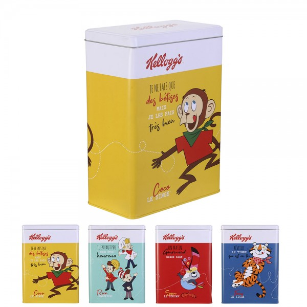 Kellogg's Metal Cereal Container (Color: Mixed, 25x18cm) 526417-V001 by Kellogg's