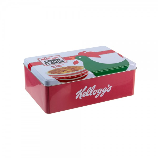 Kellogg's Metal Corn Flakes Sugar Container (Color: White and Red, 20.3x13.3cm) 526419-V001 by Kellogg's