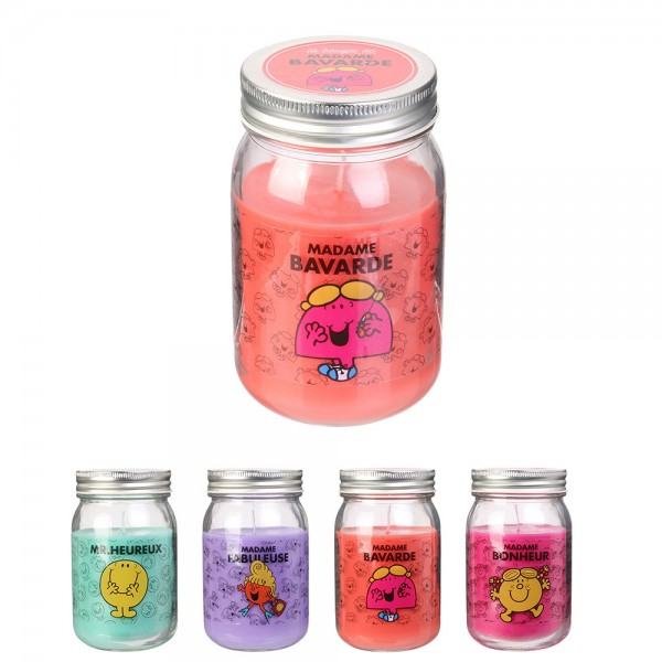 Monsier Madame Glass Jar Candle (Color: Mixed, 13x7.5cm) 526421-V001 by Monsieur Madame