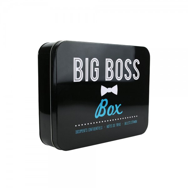 La Boite A Metal Container Big Boss (Color: Black, 31.5x24.3cm) 526423-V001 by La boite a metal