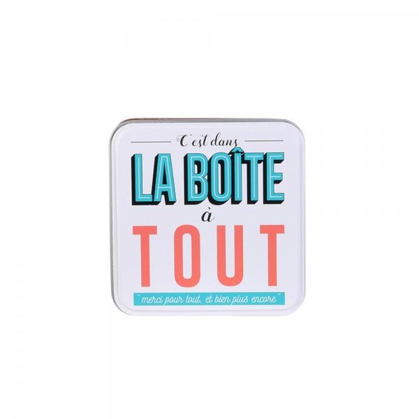 La Boite A Metal My Everything Box (Color: Salmon, 10.5x10.5cm) 526425-V001 by La boite a metal