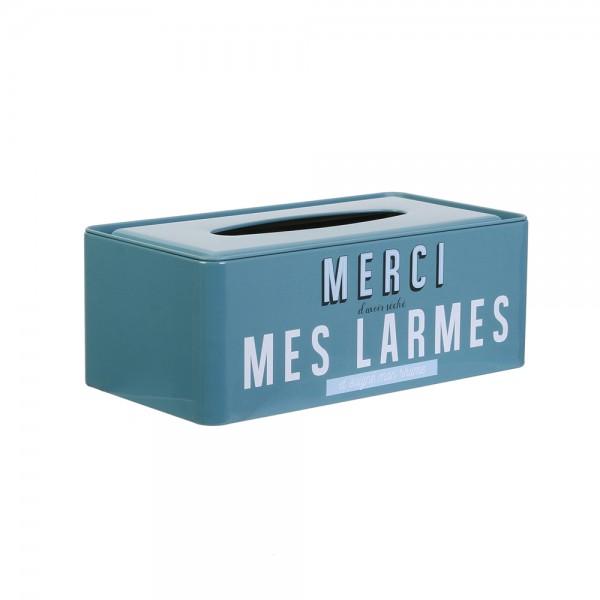 La Boite A Metal My Tissue Box (Color: Blue, 24.2x12.5cm) 526427-V001 by La boite a metal