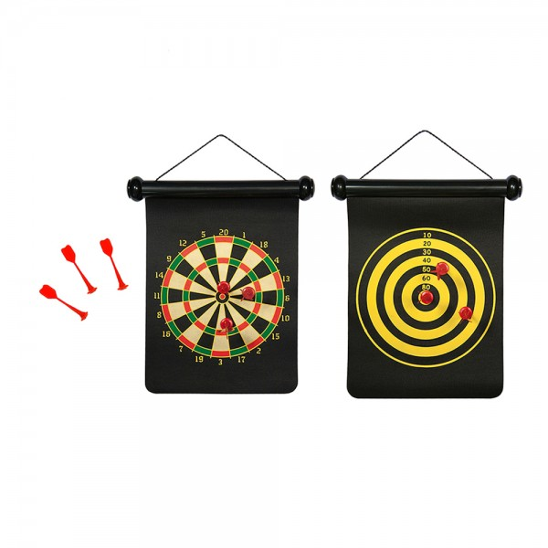 Mister Gadget Reversible magnetic dartboard target 526511-V001 by Mister Gadget