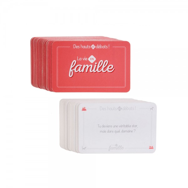 SPECIAL FAMILY DEBATE CARD GAME 526521-V001 by Mister Gadget