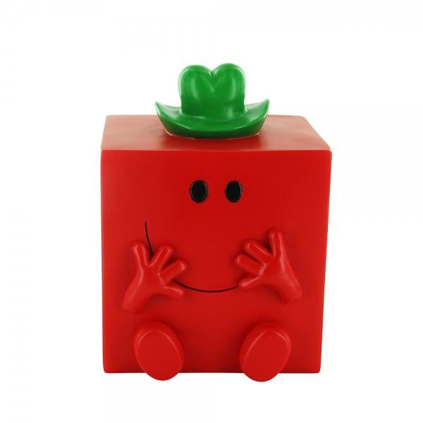 Monsieur Madame Piggy Bank 3D Monsieur Costaud (Color: Red, 16x12.6cm) 526538-V001 by Monsieur Madame