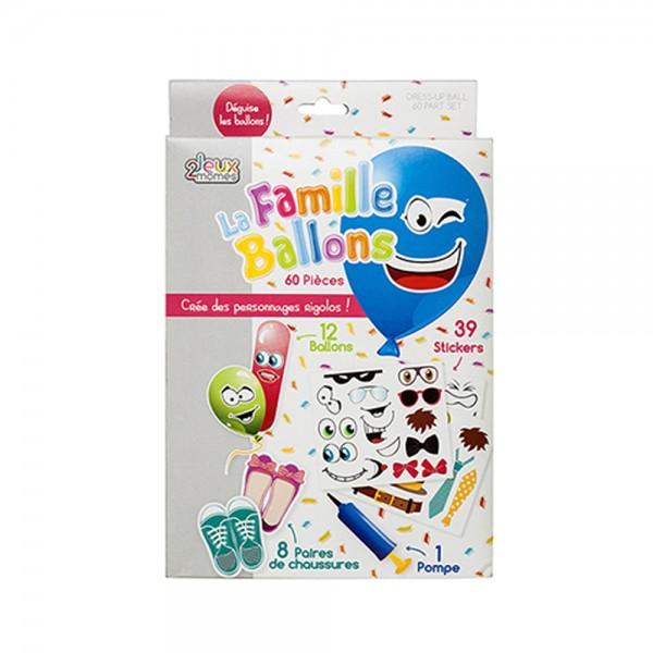 Jeux2Momes Dress Up Balloon Set Multicolor - 60Pc 526545-V001 by 2 Jeux Momes