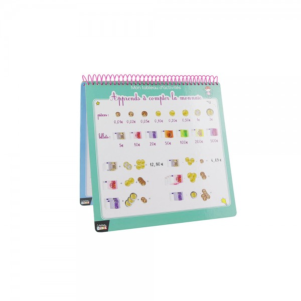 Genie Creator Erasable Activity Book With Felt Tip Pen And Eraser Pad 526552-V001 by 2 Jeux Momes