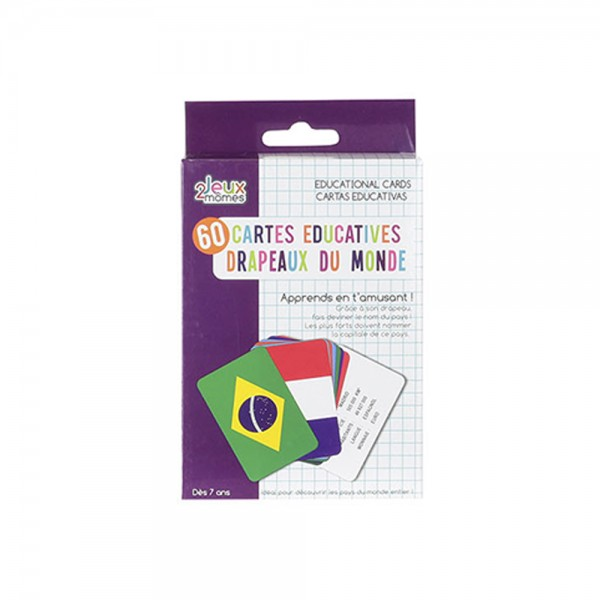 Educational maps Countries and flags 526556-V001 by 2 Jeux Momes