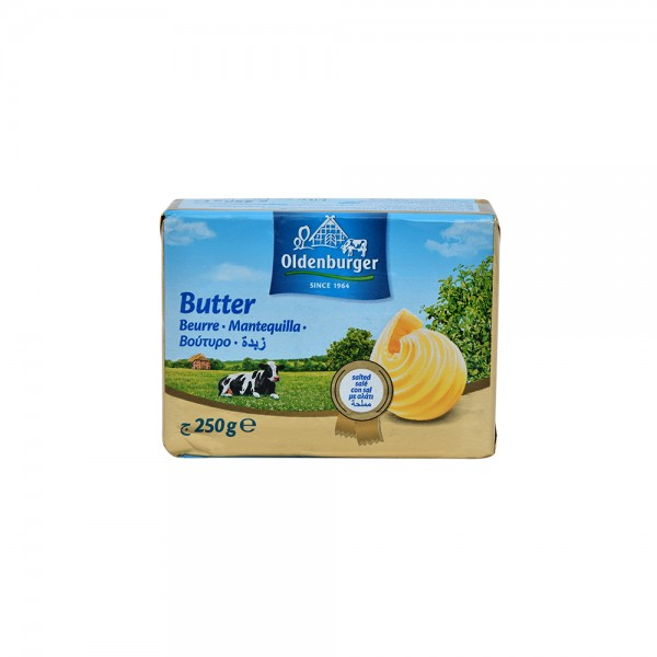 OLDENBERGR Salted Butter 250g 526572-V001 by Oldenburger