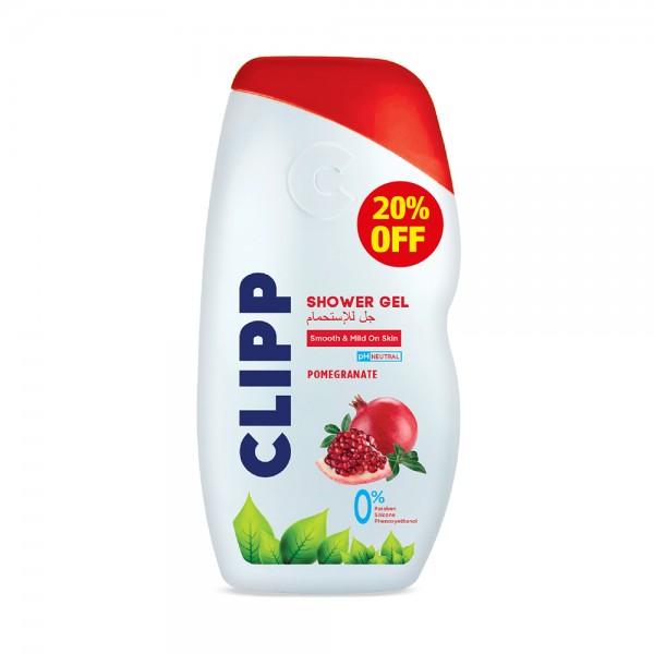SHOWER GEL  POMEGRANATE 20PCUT 526615-V002 by Clipp