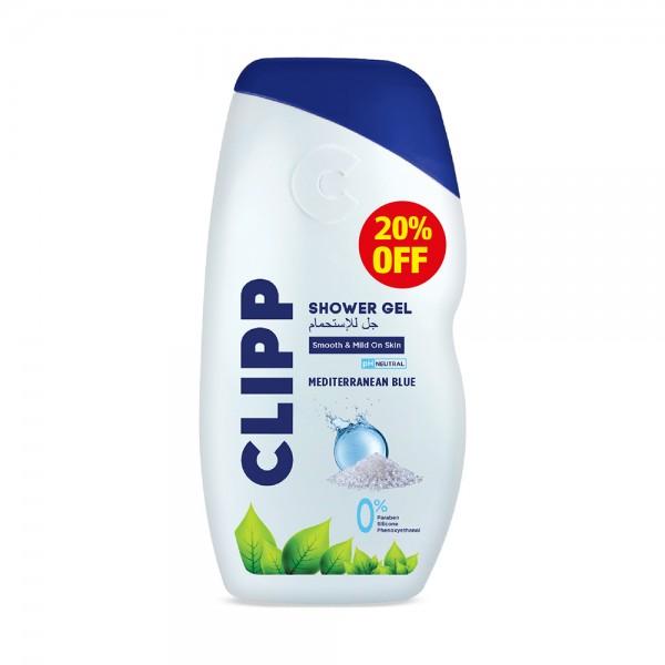 SHOWER GEL MEDITERRANEAN BLUE 20PCUT 526616-V002 by Clipp