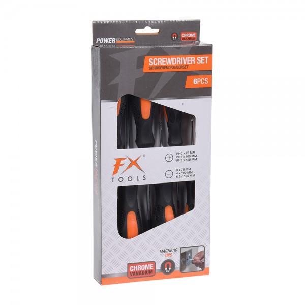 Fx Tools Screw Driver Set - 6Pc 526720-V001 by FX Tools