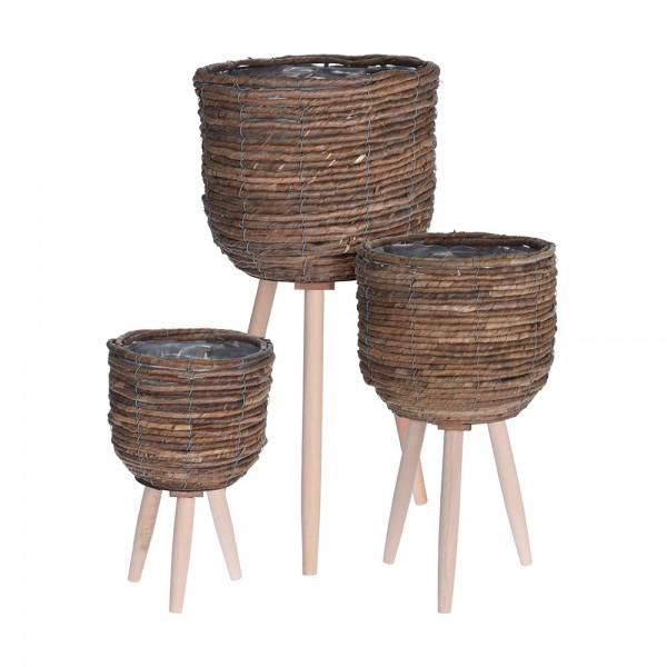 Eh Flower Pot Standing Medium 526759-V001 by EH Excellent Houseware