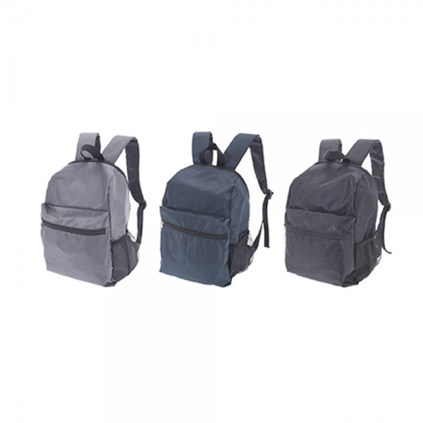 EH 3 Mixed Color Polyester Backpack 1 piece 526821-V001 by EH Excellent Houseware