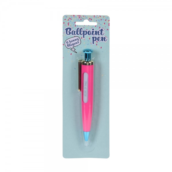 EH, Unicorn with Slogan Pen, 1PC 526843-V001 by EH Excellent Houseware