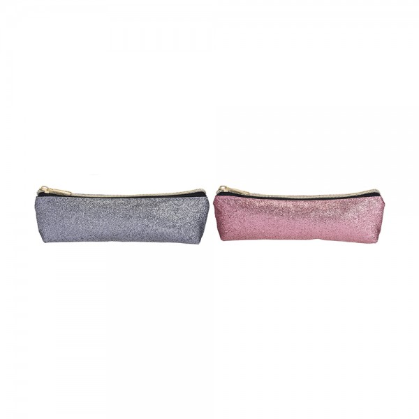 EH, Mixed Color Glitter Pencil Case, 1PC 526848-V001 by EH Excellent Houseware