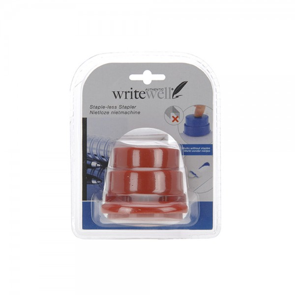 Writewell, PP Stapler with Staples, 1PC 526859-V001 by Writewell