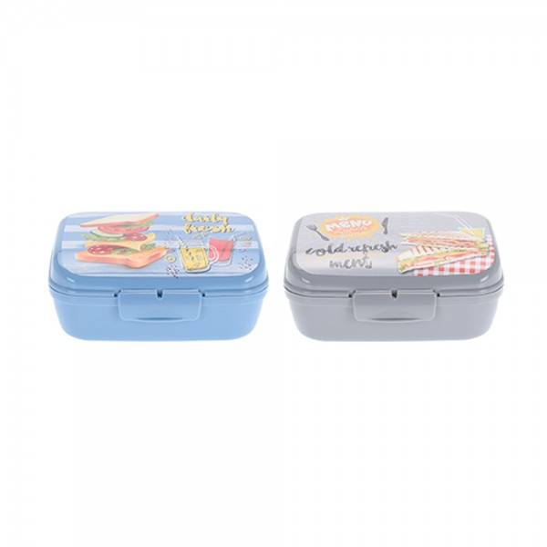 EH, PP Mixed Color Lunchbox, 100ml 526862-V001 by EH Excellent Houseware