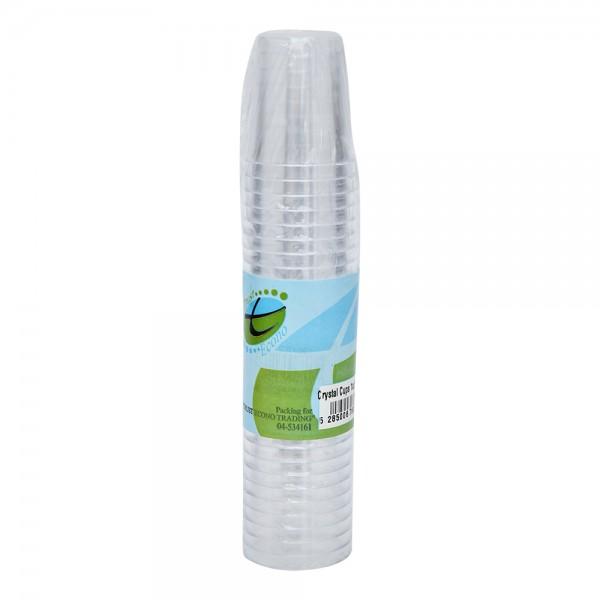Trust Econ Crystal Cup Shot 1Oz 526956-V001 by Trust Econo