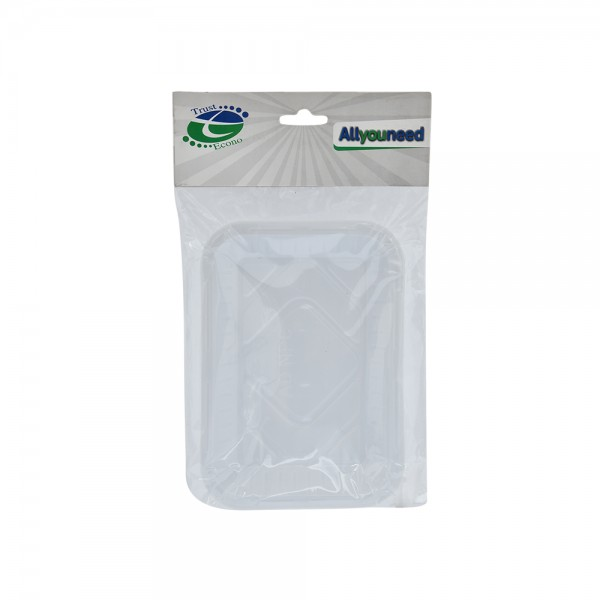 Trust Econ Rectangular Plastic Plate P1 526967-V001 by Trust Econo