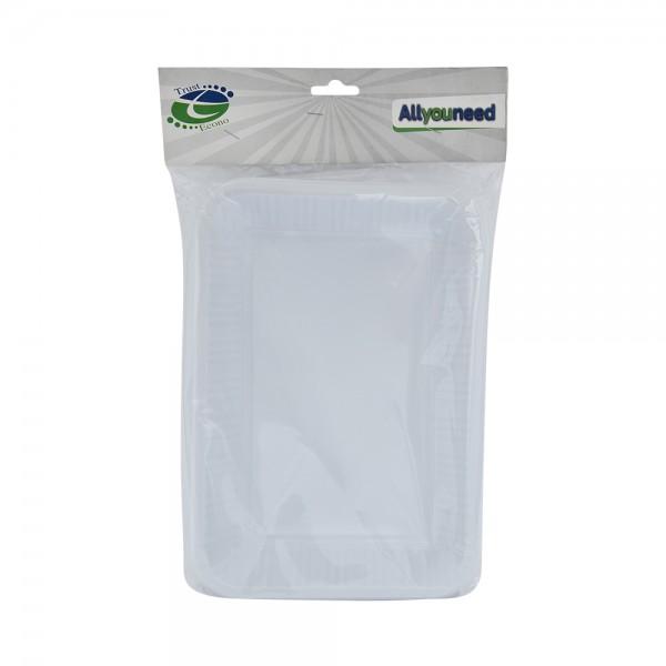 Trust Econ Rectangular Plastic Plate P3 526969-V001 by Trust Econo